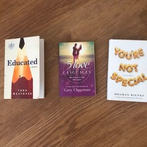 3 Books | 2 Memoirs and 1 Self-Exploration